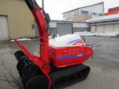 画像1: ヤンマー除雪機
