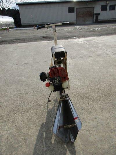 画像2: [販売済]共立乗用溝切機